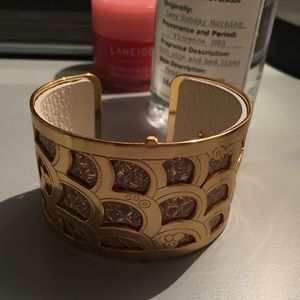 Brighton Christo Cuff - Gold/White/Champagne